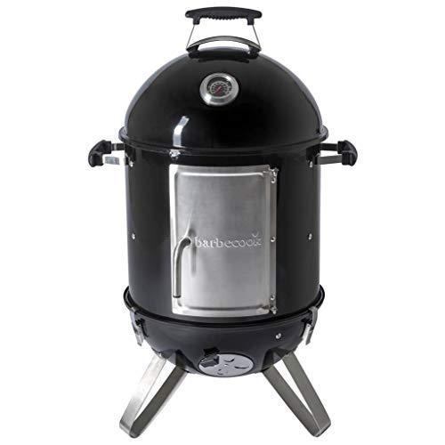 Barbecook affumicatore a Caldo e a Freddo –Oskar S 88cm–in Acciaio Inox–Ø 40cm