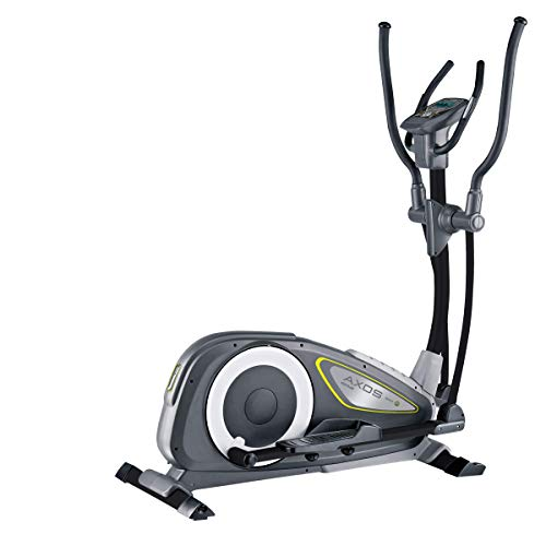 Kettler Bicicleta elíptica Nova P de 14 kg de masa oscilante, 16 niveles de resistencia, 130 kg de carga máxima de peso, 12 programas de entrenamiento