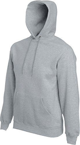 Fruit of the Loom Hooded Sweat Graumeliert - S