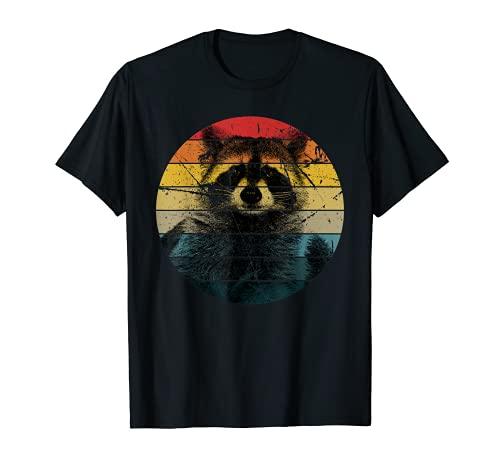 Waschbär Geschenk für Mapache Marder Raccoon T-Shirt