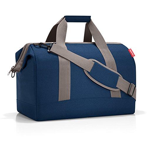 reisenthel allrounder M MS4059 in dark blue – Reisetasche mit 18l Volumen – Hochwertig und bequem – B 40 x H 33,5 x T 24 cm