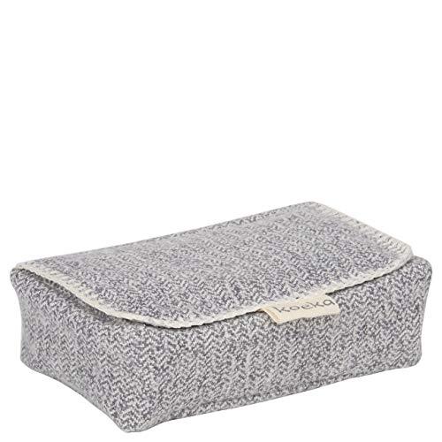Koeka Hoes Voor Babydoekjes Vigo Sparkle Grey One Size
