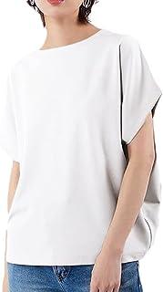 [ボニートペリート] 6カラー トップス M~XL 半袖 無地 オシャレ ゆったり カットソー 夏 レディース
