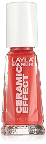 Layla Cosmetics 1243R23-114 Ceramic Effect Nagellack - diabolique gold, 1er pack (1 x 0.01 l)