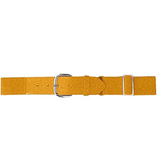 Augusta Sportswear 6001 Men's Elastic Baseball Belt, One Size, Gold