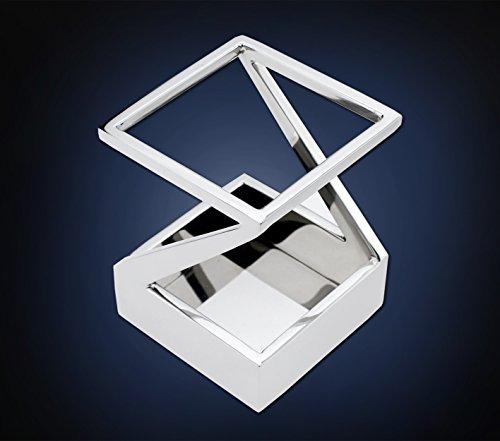 米国ArtsOnDesk モダンアート 高級ペン立て Mr103 ステンレス製鏡面仕上げ 特許登録ペンスタンド ペンケース鉛筆スタンド ペントレーデスクオーガナイザーギフト ビジネスギフト.