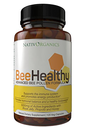 Bee Healthy Royal Jelly and Bee Pollen Capsules