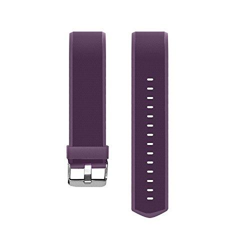 Vigorun Fitness Tracker Correas Pulseras de Repuesto YG3 Plus HR Activity Tracker (Púrpura)