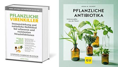 Pflanzliche Virenkiller + Pflanzliche Antibiotika plus 1 exklusives Postkartenset