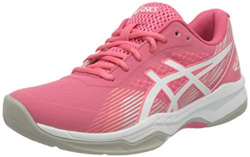 Asics Gel-Game 8, Tennis Shoe Mujer, Pink Cameo/White, 39.5 EU