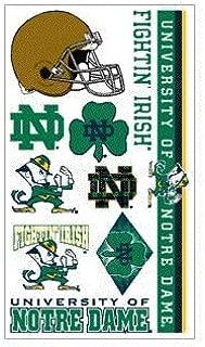 Notre Dame Fighting Irish Temporary Tattoo