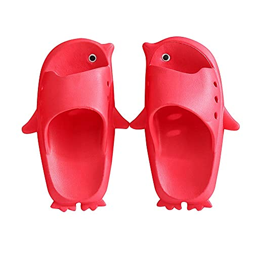 WJYCGFKJ Niños Niñas Zapatos de Agua Zapatillas Lindas Sandalias de Diapositivas Diapositivas Pingüino de Dibujos Animados Zapatillas de Verano Zapatos para niños Chanclas Toboganes de Playa