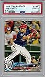 2018 Topps Update Baseball #US300 Juan Soto Rookie Card Graded PSA 10 Gem Mint. rookie card picture