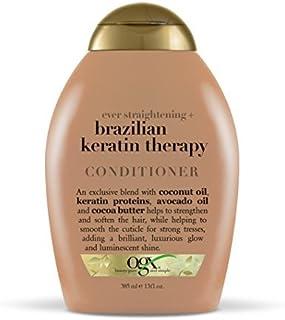 Organix Conditioner Brazilian Keratin 13 Oz, Pack of 3
