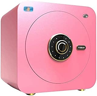 Safes Home and Lock Boxes Lock Box Digital Password Box Household Small Safety Box Cash Jewelry Wall-Mounted Safety Bedsid...