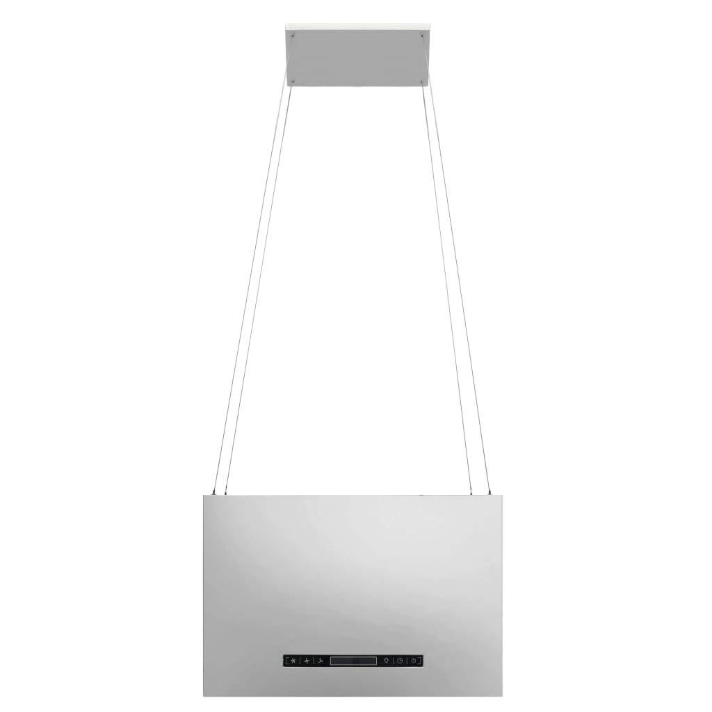 vidaXL Campana extractora colgante táctil LCD acero inoxidable 55 cm: Amazon.es: Hogar
