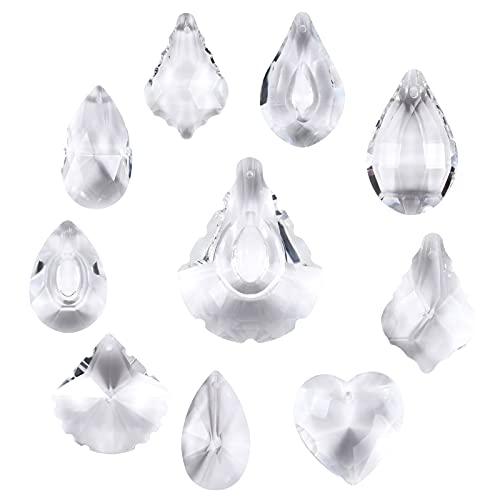 Bola de Cristal Prisma, 10 Pcs Colgante Prisma para Decoraciones, Feng Shui...