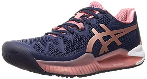 ASICS Gel-Resolution 8, Zapatos de Tenis Mujer, Peacoat Rose...