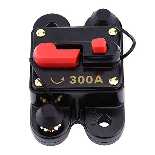 1 stück DC12V Leistungsschalter für Auto Marine Boat Bike Stereo Audio Reset Sicherung 80-300A(300A)