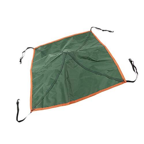 P Prettyia Pop Up Replacement Tent Top Cap Rain Roof Vent Cover Canopy - Green