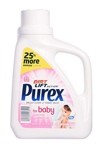 Purex Liquid Laundry Detergent, Baby 38 Loads Baby Blossom, 50 Fl Oz