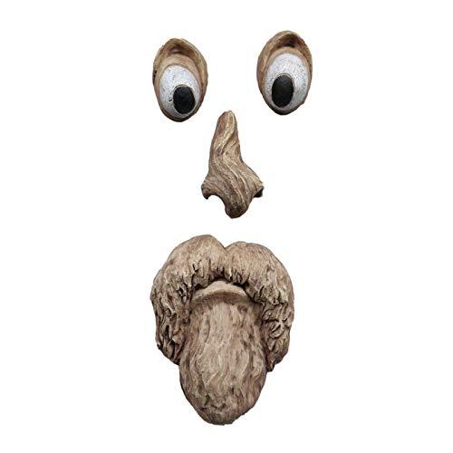 Seatechlogy Old Man Tree Hugger | Alter Mann Baumgesicht Yard Art Dekorationen | Garten Peeker Baum Gesicht Skulptur Wunderliche Garten-Dekoration