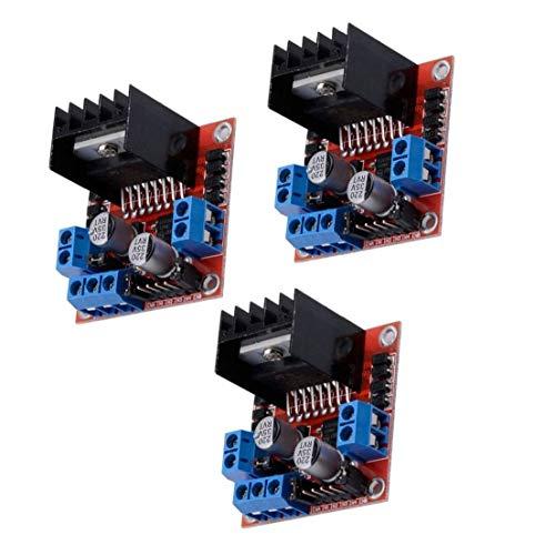 Schrittmotor-Treibermodul L298N DC Doppel-H-Brücke Controller Board kompatibel mit Arduino Raspberry Pi 3PCS Industrial Tool