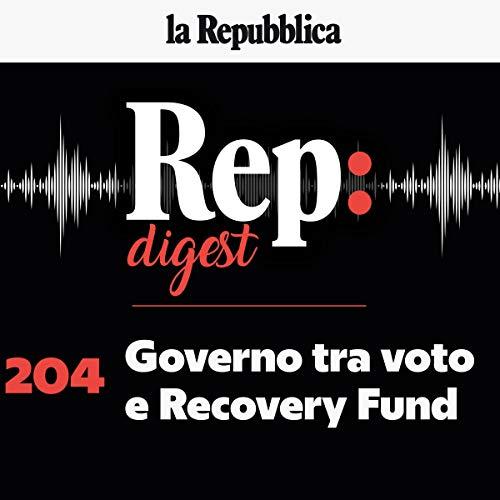 Couverture de Governo tra voto e recovery fund