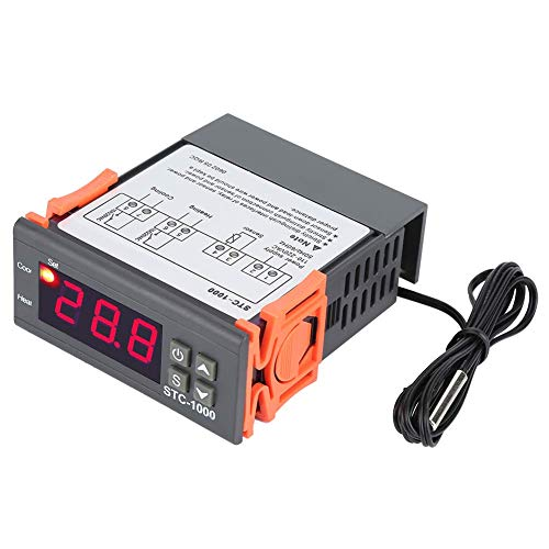 Mozusa Controlador de temperatura digital TEMP SENSOR TERMOSTAT ELECTRICAL CONTROL 110-220V