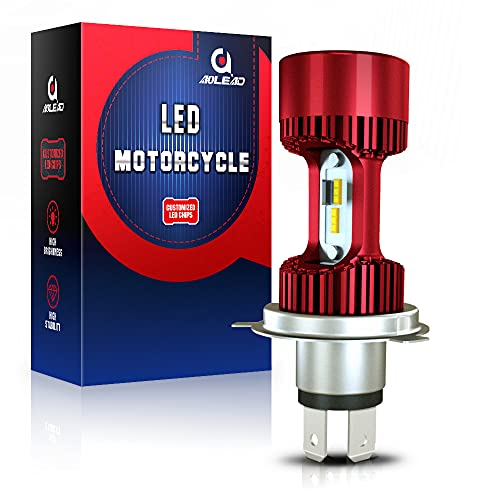Bombilla H4 LED para faro de moto 6400LM