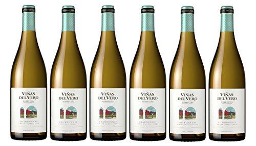 Viñas del Vero Chardonnay Colección – Vino D.O. Someontano – 6 botellas de 750 ml – Total: 4500 ml