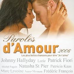 Paroles d'amour 2006