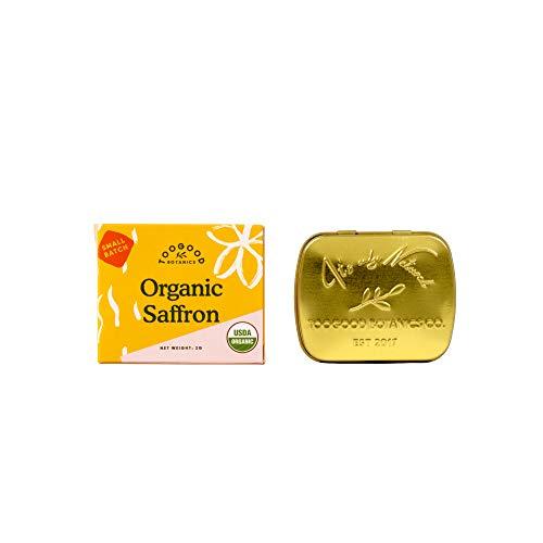 Organic Pure Saffron, non-GMO, Superior Grade A, Kashmir Valley [Certified Organic] (2)