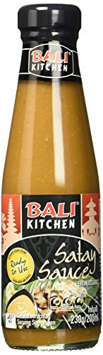 Bali Kitchen Sataysauce, 3er Pack (3 x 200 ml)
