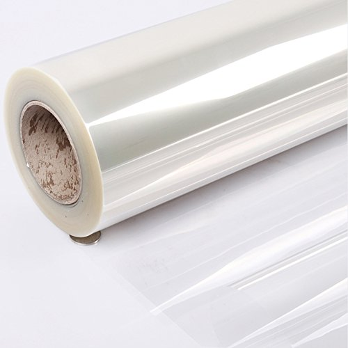 Yizunnu - Adhesivo de vinilo transparente a prueba de aceite para muebles de cocina, 5 m, vinilo, transparente, thickness-0.1mm