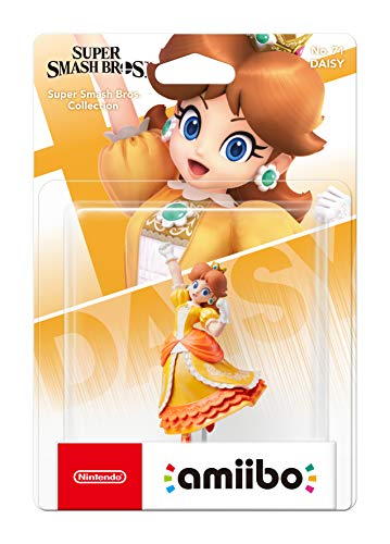 Nintendo - Amiibo Daisy, Colecciónn Super Smash Bros Modelo antiguo