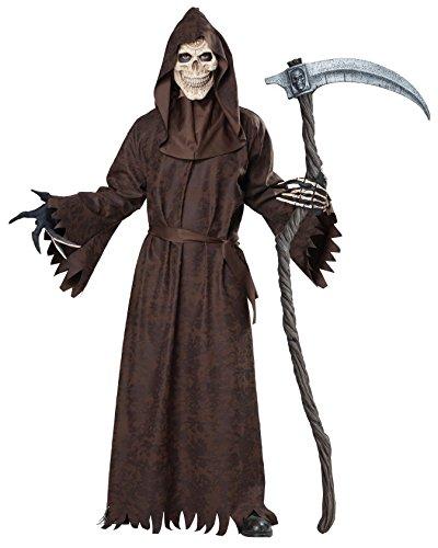 California Costumes 01765 - Disfraz De Antigua Parca, Disfraz de La Muerte Para Hombre Talla Plus 4XL - 5XL