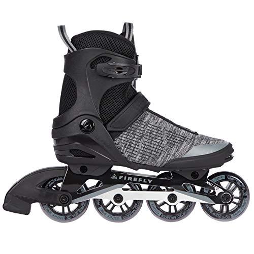 Firefly Herren Ils 350 M84 Inline-Skate, Black/Greydark/Grey, 44 EU