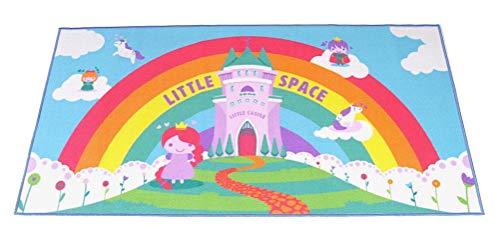 Littletude ABDL Spielmatte für Erwachsene, Motiv: Märchen Little Space