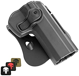 IMI-Z1330 IMI Defense Polymer Roto Right Hand Paddle Holster for CZ 75, 75 B Compact, 75 Omega, CZ75 BD, CZ 85 + 1x mini P...