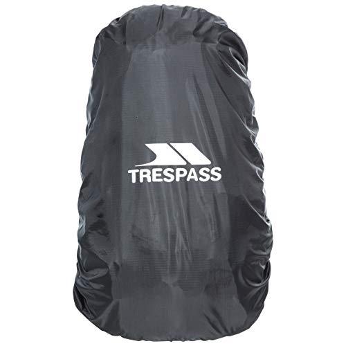 Trespass Waterproof Rucksack Rain Cover for Backpacks, Black, Medium