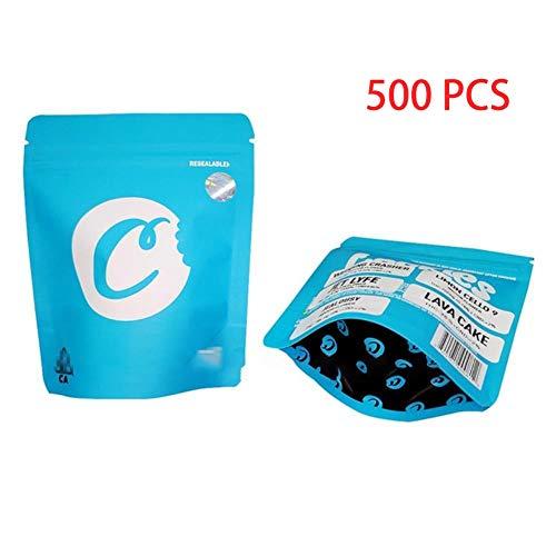 Cali-Tasche für Kekse, SF-Polyester-Folie, Heimdekoration (Farbe: A, Größe: 500 Stück)