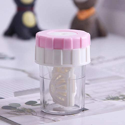 Cute Pocket Mini Contact Lens Carry Lenses Plastic Cleaner Fees free!! Easy All items free shipping