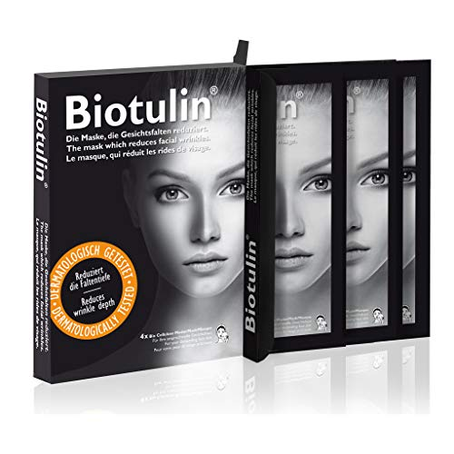 Biotulin Bio Cellulose Maske, 4er Box