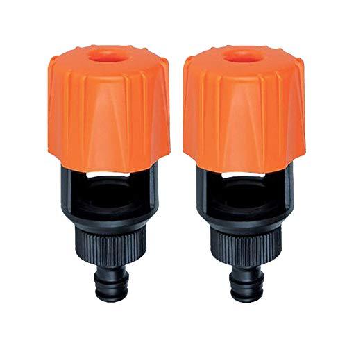 Syeytx 2 Stücke Universal Wasserhahn Zu Gartenschlauch Rohrverbinder Mixer Küche Schnuller Tap Adapter