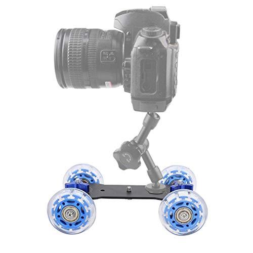 Coche Dolly Skater multifunción, cámara de Escritorio portátil Dolly Skater, Accesorio de...