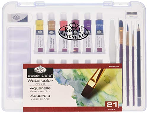 Royal & Langnickel Essentials(TM) Clear View Art Set, Watercolor Painting