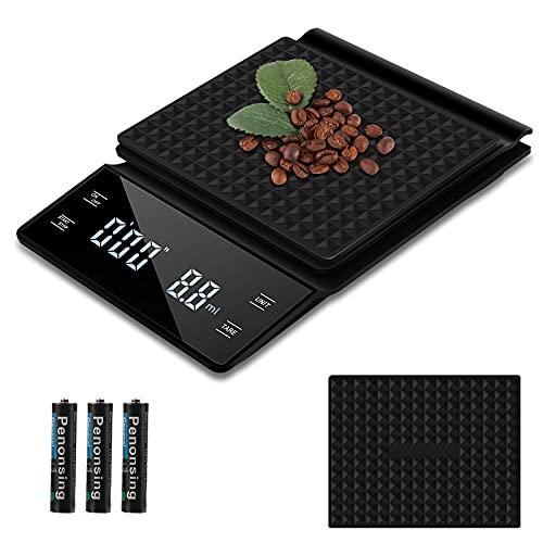 bilanciere 3 kg Bilancia Digitale da Caffè con Timer