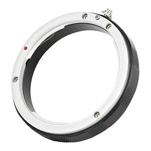 SALUTUYA Anillo Adaptador de Lente de Alta precisión de mecanizado Duradero portátil Resistente Lente de Montaje EOS para Equipo de Interfaz roscada M60 * 0.75