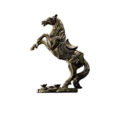 XZJJZ Estatuas Inmediatamente Rico Regalo de Resina Vinoteca Armario Decoración Pequeños Adornos...